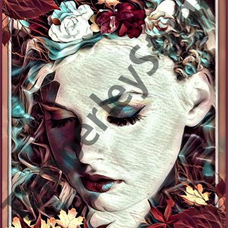 beautiful version 2, autumn look floral and vibrant