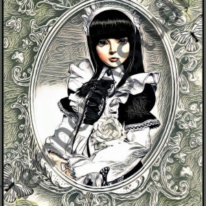 Lolita doll cameo girl