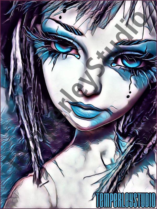 Fairy doll face