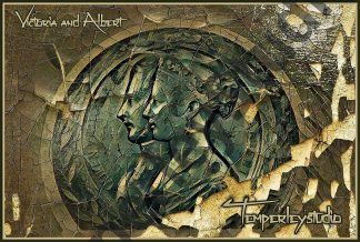 Victoria and Albert rustic shatter