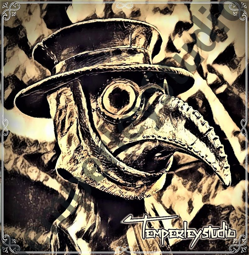 Gothic steampunk plague mask