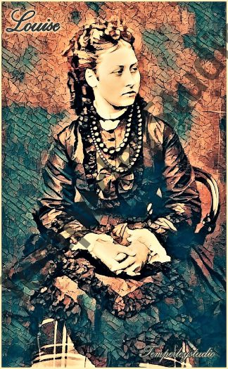 Princess Louise 'steampunk pose'