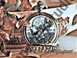 Queen Victoria coin and Pocket-watch
