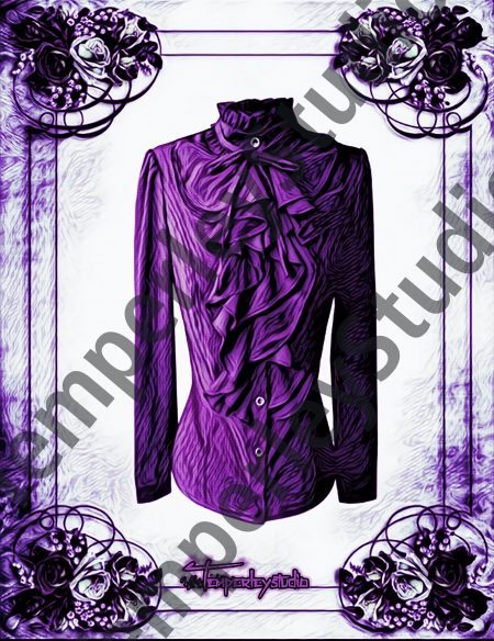 Gothic blouse in frame