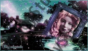 Lolita mystic garden girl