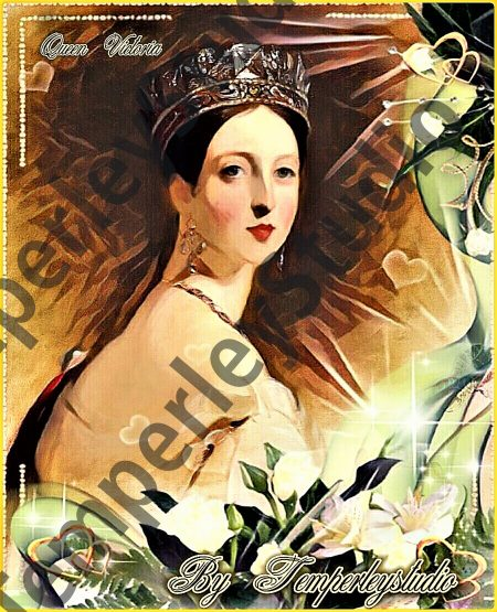 Queen victoria in her glory