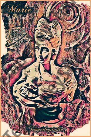 Shabby chic Marie Antoinette