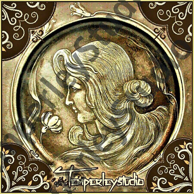 steampunk coin maiden