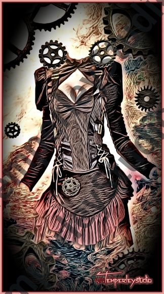 Steampunk outfit set 4