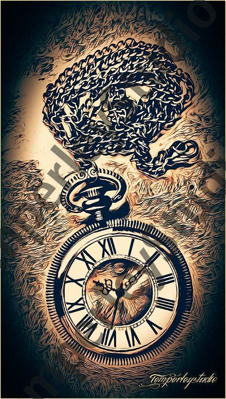 Steampunk stopwatch