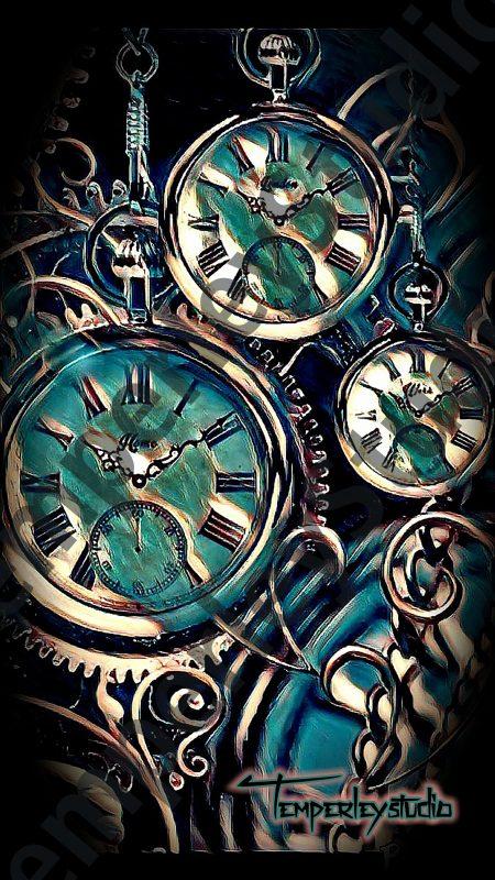 Steampunk stopwatches