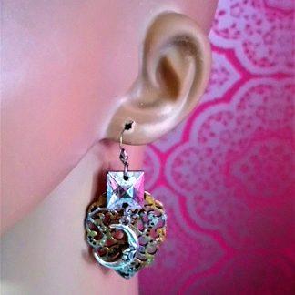 Fantasy & art nouveau earrings