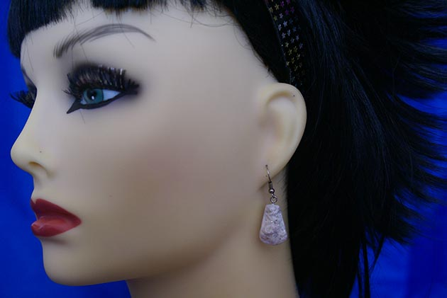 Lolita corset glove earrings