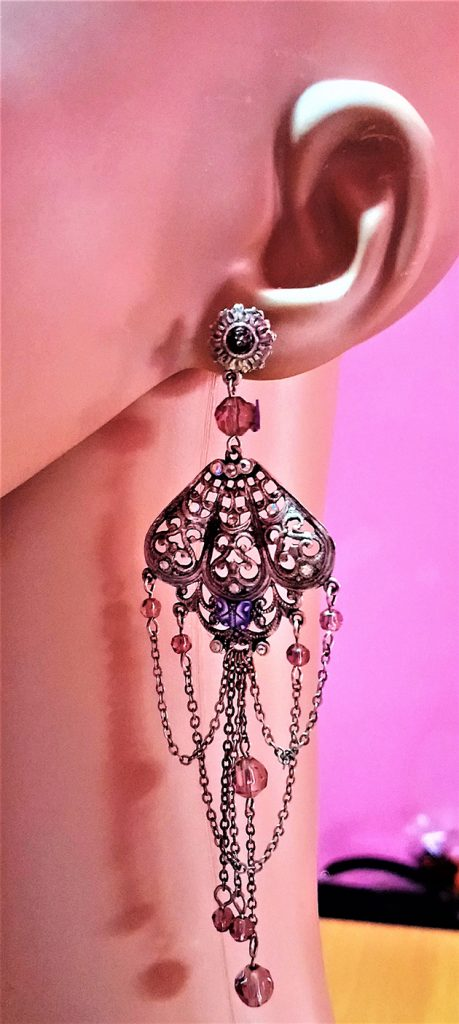 Victorian and Lolita earrings