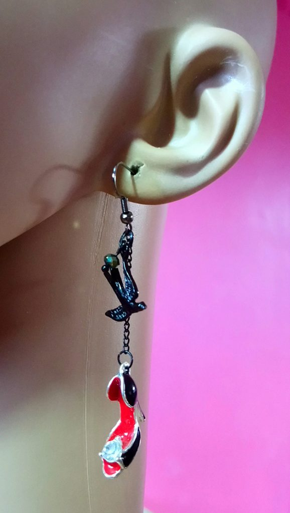 Rockabilly and Nautical earrings