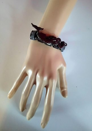 Gunmetal mermaid bracelet