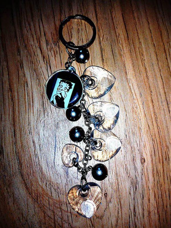Betty Boop keyring/bag charm