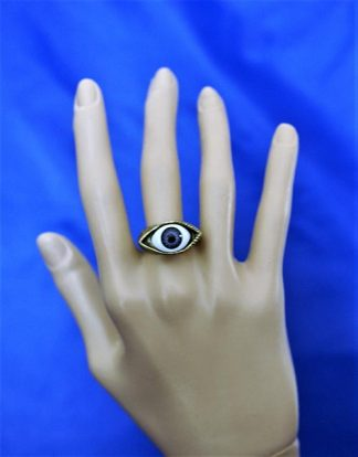 3D (unisex) opitical illusion eye ring
