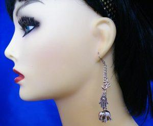 Ethnic and Hindu earrings
