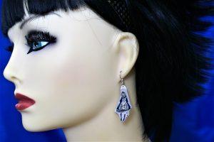 Lolita Alice cameo earrings