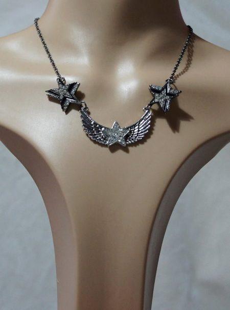 Gothic Lolita fantasy stars necklace
