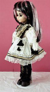 White Lolita Alice heart dress
