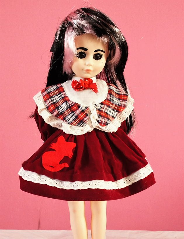Alice Lolita tartan Cheshire cat dress