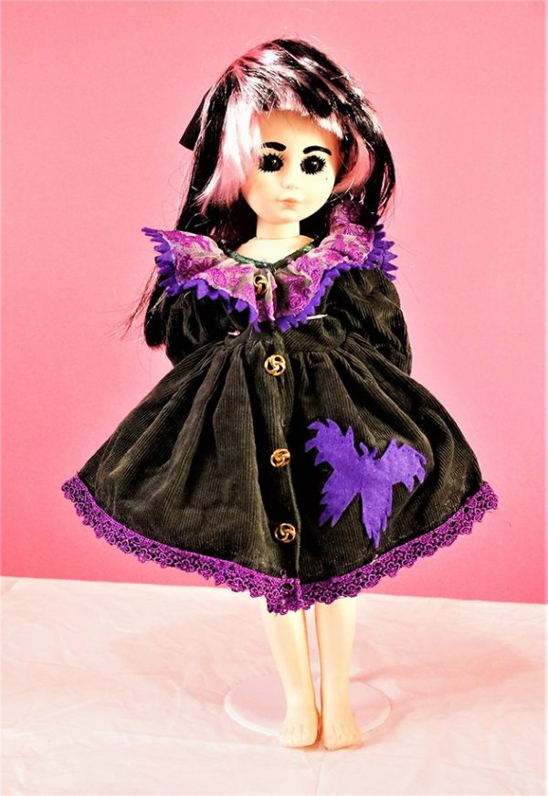 Gothic fantasy butterfly dress