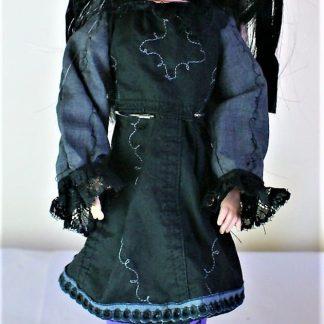 Gothic Lolita vine and lace dress