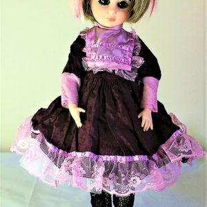 Victorian Lolita red and pink dress
