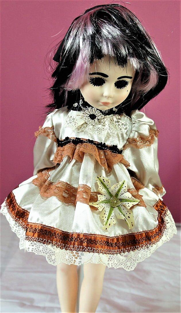Victorian Lolita flower dress