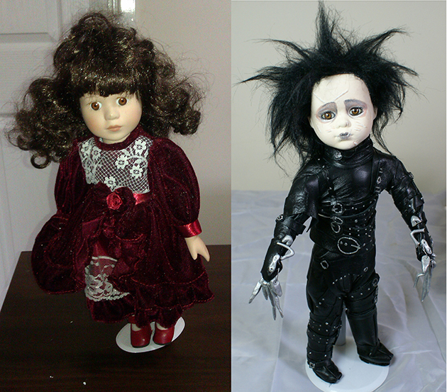 Before after Scissorhands