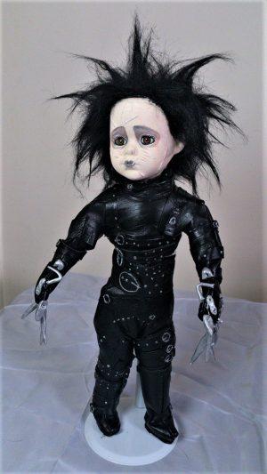 Edward Scissorhands ornamental doll