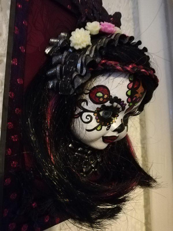 Day of the dead (Día de los Muertos) 3D doll face picture 1