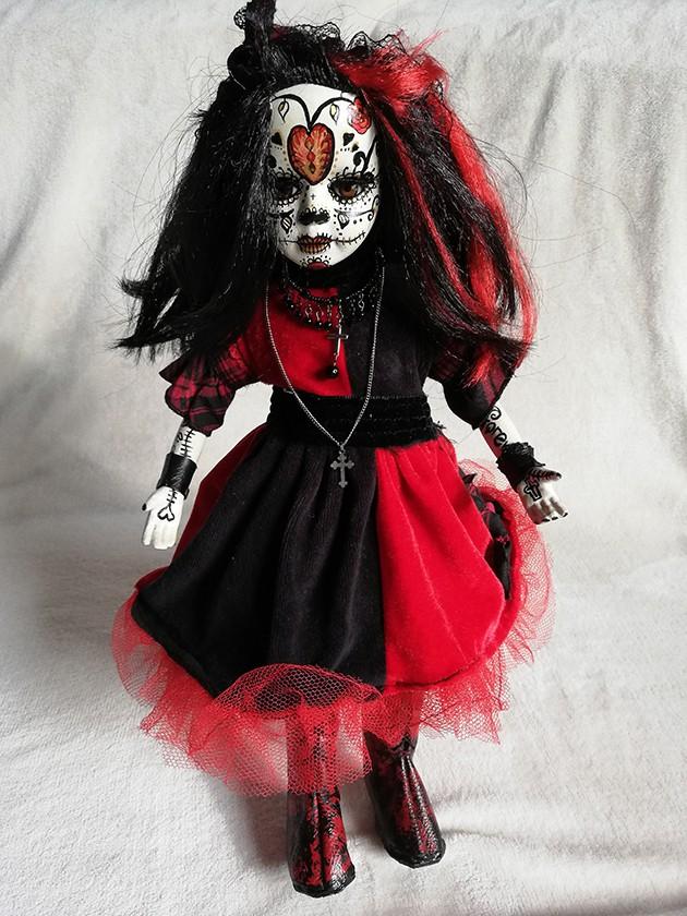 Day of the dead Día de Muertos doll