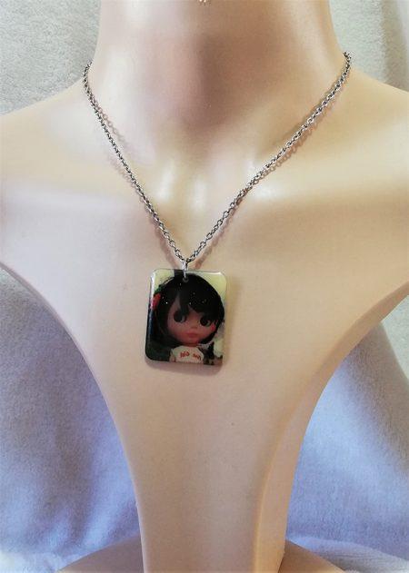 Blythe doll pendant necklace 1