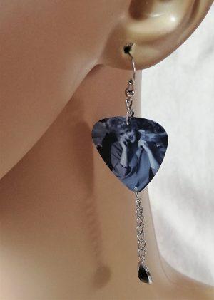Marilyn Monroe Rockabilly icon isometric earrings