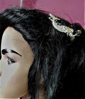 Mermaid and jewel hairclip
