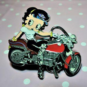 Biker Betty Boop offical belt buckle