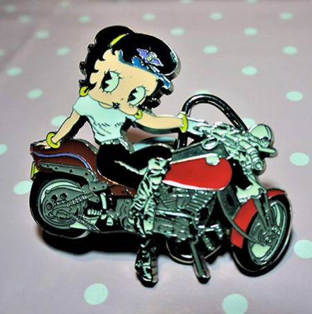 Biker Betty Boop offical belt buckle
