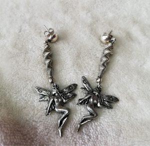 Fantasy nouveau fairy and swirl earrings